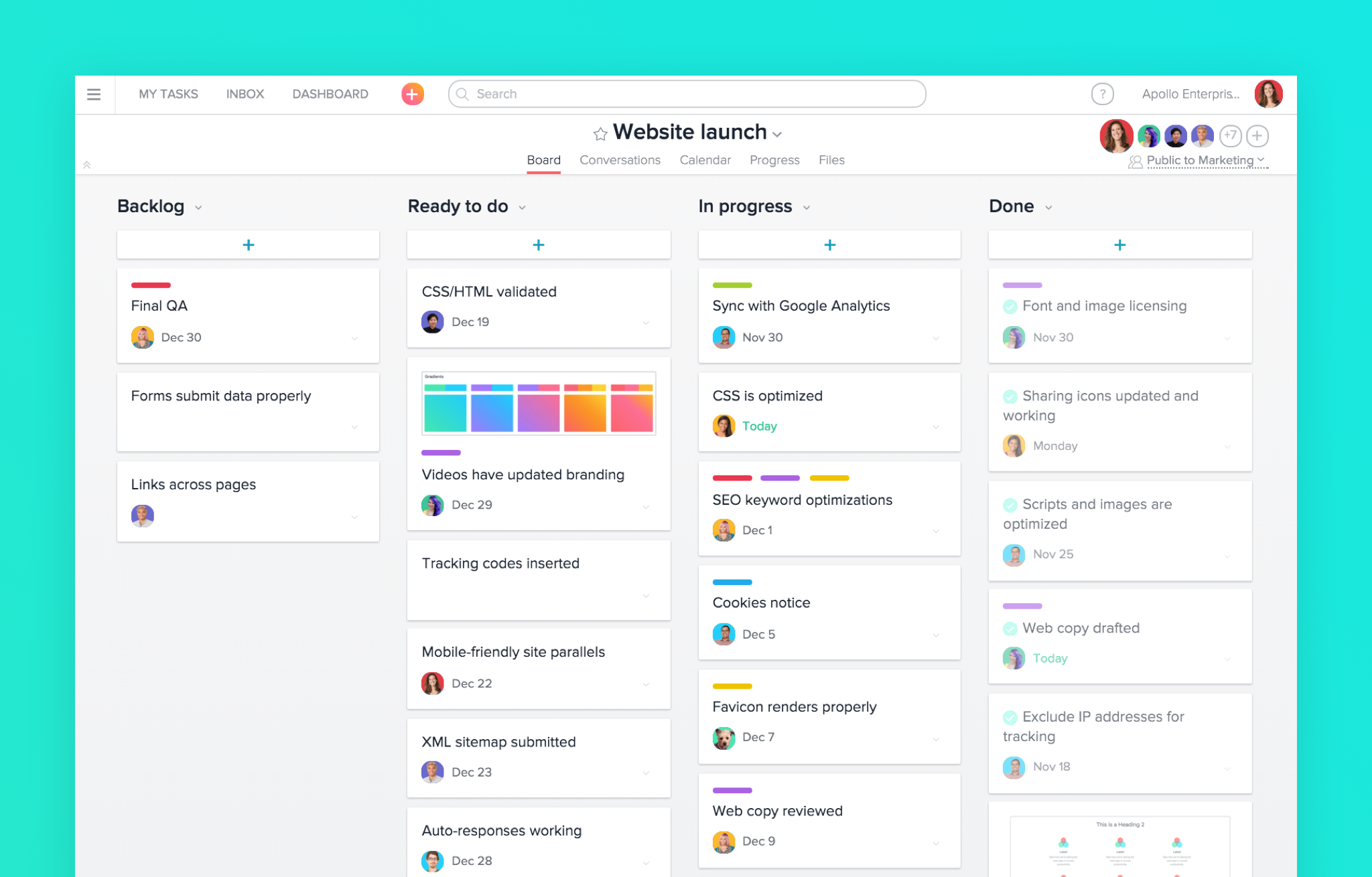 asana review project management software