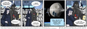 Death Star project management comic